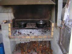 cuisine au feu de bois élément de cuisine en brique tradition réalisations maisons