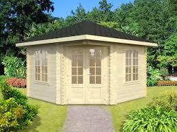 Garden Summer Houses Corner - wooden garden buildings cabinco structures