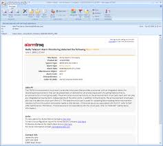 alarmtraq dynamic html email templates
