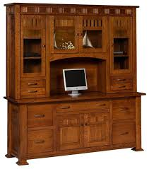 Craftsman Style Computer Desk 182 Best Amish Office Furniture Images On Pinterest Amish