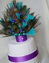 peacock wedding cake topper turquoise gold peacock cake ideas 97269 purple peacock wed