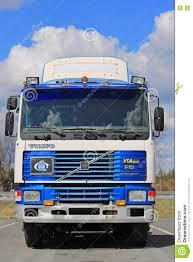 volvo truck tractor classic volvo f10 intercooler truck tractor editorial stock photo