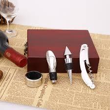 wine gift sets aliexpress buy wine gift set bottle opener wine corkscrew