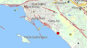 Santa Monica College Map Magnitude 3 9 Earthquake Hits Near San Juan Capistrano Nbc