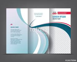 3 fold brochure template free vector tri fold brochure template design concept business trifold