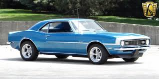 blue 68 camaro 1968 chevrolet camaro 20825 lemans blue coupe 327 cid v8