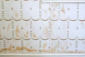 Clean Wall Stains by Domestic Science How To Remove Water Stains From Wallpaper