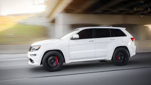 jeep cherokee black with black rims jeep cherokee srt 8 velgen wheels