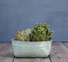 modern fruit bowl ceramic bowl ceramic serving bowl fruit bowl mint green