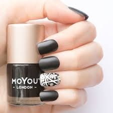 color nail polish black knight 9ml simply ma de