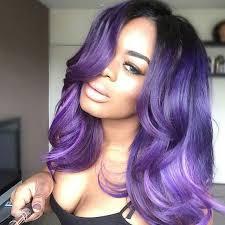 black hairstyles purple the 25 best purple hair extensions ideas on pinterest purple