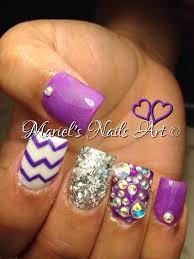 27 cute purple nail designs cute purple nail designs nail designs