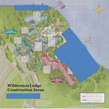 Disney World Hotels Map by Construction At The Wilderness Lodge And Villas Yourfirstvisit Net