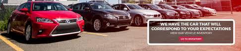 lexus used car inventory groupe rive sud car dealership