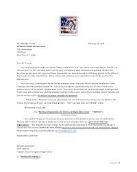 American Cover Letter Noviac U201ccover Letter U201d To Donald Trump U2013