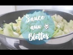 comment cuisiner les cotes de blettes la sauce aux blettes une recette rapide healthy et facile à faire