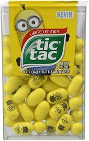 minion tic tacs where to buy limited edition despicable me minions tic tac