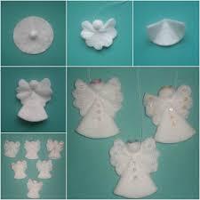 creative ideas diy cotton pad ornaments cotton