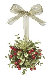 Mistletoe Decoration Ganz Small Mistletoe Door Decor Kissing Ball 3 5