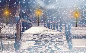 free photo snow snowfall lantern lights free image on