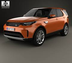 land rover discovery custom land rover discovery hse 2017 3d model hum3d