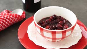 zinfandel cranberry sauce thanksgiving