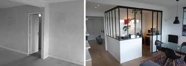 aménagement bureau à domicile avant après aménagement d un appartement avec un coin bureau