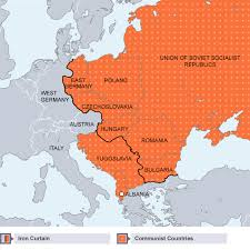 Summary Of Iron Curtain Speech Bbc Bitesize Gcse History The Cold War Origins 1941 56