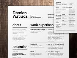 inspirational resume