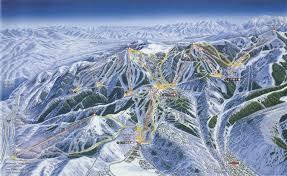 Park City Utah Trail Map by Deer Valley Resort Skimap Org