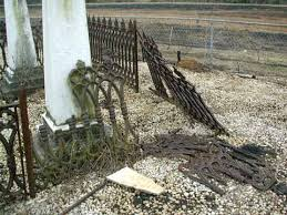 cemetery ironwork cemetery fencing cemetery preservation