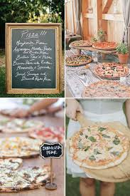 Casual Wedding Ideas Backyard Best 25 Pizza Wedding Ideas On Pinterest Buffet Pizza