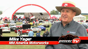 mid america corvette powertv s corvette funfest 2011 highlights with mike yager