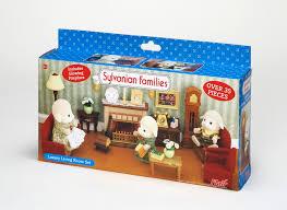Sylvanian Families Catalogue Girls Toy Collection - Sylvanian families living room set