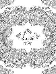 coloring pages free printable valentines coloring pages
