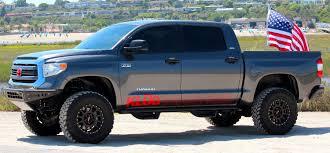 lifted toyota pickup lift kit 2007 2015 tundra 2wd 6 5