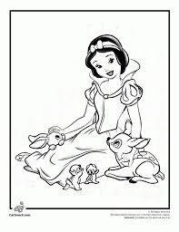 snow white coloring pages free ar2n5