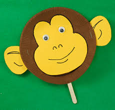 Paper Plate Monkey Craft - artful dodgers nursery supplies educational products