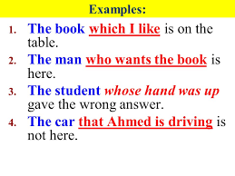 The Book Is On The Table Adjective Clause 1 The Adjective Clause Is Used To Modify A Noun