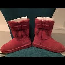 josie ugg boots sale josie uggs worn once already weatherized burgundy color ugg
