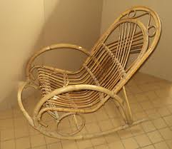 Bamboo Rocking Chair Small Rocking Chair Bamboo Vintage Small Bamboo Rocking Chair Ebay