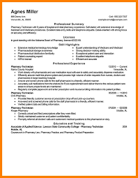Examples Of Pharmacy Technician Resumes Pharmacy Technician Sample Resume Easy Samples For Objective 25