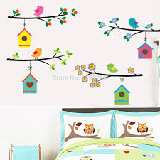 search on aliexpress com by image 3d vintage branch bird cage window wall stickers removable living room decals mural parlor window kids bedroom home decor