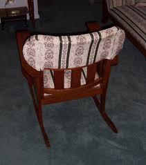 triple a resale vintage upholstered rocking chair