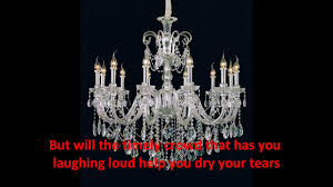 chandelier youtube crystal chandelier song basements ideas