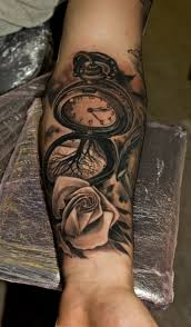cool hand tattoos download hand tattoo clock danielhuscroft com