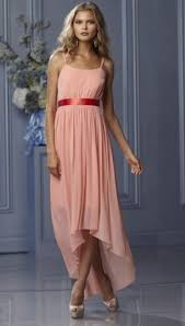 wtoo 482 high low chiffon bridesmaid dress french novelty