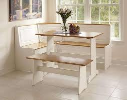kitchen breakfast nook bench round table amazing cozy interior