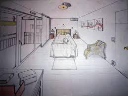 dessin chambre en perspective chambre en perspective point de fuite idées de décoration capreol us