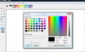 tutorial i how to create simple borders using ms paint turbofuture
